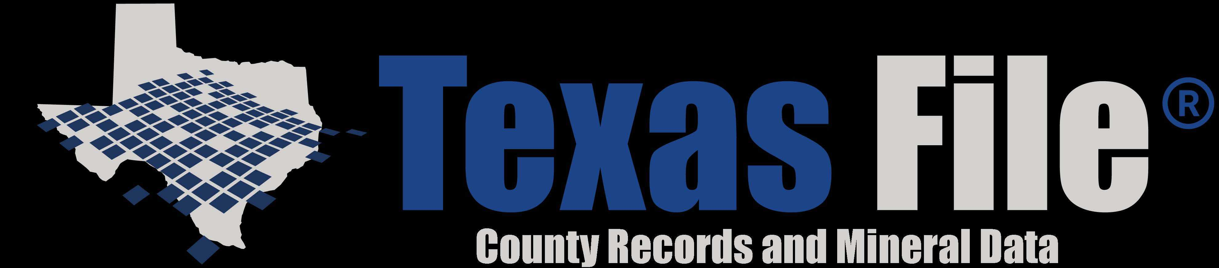 Texas File Horizontal Logo